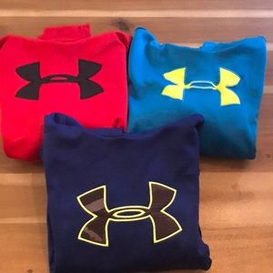 GUC Set of 3 Under Armour Hooded Sweatshirts L/XL